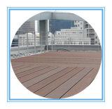 Panneau composé imperméable à l'eau professionnel de WPC pour la décoration extérieure (150 * 25mm)