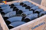 Codo del tubo de la autógena del carbón Caliente-Presionado \ del acero inoxidable