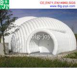 最も新しいデザイン小さく膨脹可能な玄関ひさし、膨脹可能なドームのテント