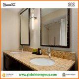 Les partie supérieure du comptoir de salle de bains de qualité au prix bon marché du GV ont vérifié le constructeur