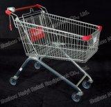 Einzelhandelsgeschäft-Supermarkt-Einkaufen-Laufkatze-Karre