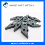 炭化タングステンの回転挿入超硬合金の挿入になされる中国の高性能の工場