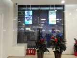 el panel doble Digital Dislay del LCD de las pantallas 50-Inch que hace publicidad del jugador, señalización de Digitaces