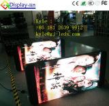 Tráfico de interior y al aire libre del LED que hace publicidad de la visualización de la demostración