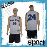 Uniformes reversibles de encargo del baloncesto de la sublimación del fabricante de China para las personas (BK002)