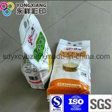 Saco de embalagem de selagem de 4 lados para pó de trigo