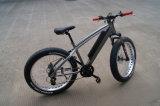 Bicicleta elétrica do motor MEADOS DE de Bafang BBS02 750W com pneu gordo