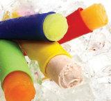 Molde macio reusável por atacado do Popsicle do silicone