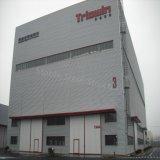 Taller de acero de la luz del bajo costo con ISO9001