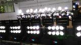8PC*10W RGBW 4 in 1 LEIDENE Straal die van de Spin HoofdLicht beweegt