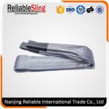 2ton Slinger van het Type van Riem van de polyester de Sterke Opheffende Bindende