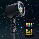 Bestes verkaufenprodukt-Beleuchtung-funkelndes Stern-Licht-Dusche-Hochzeitsfest-Zustand-Halloween-Weihnachtslaserlicht