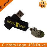Heißer Schwenker Aluminium-USB-Stock 1/2/4/8/16/32/64/128g (YT-1118)