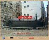 Mettant sur cric le système utilisé pour la construction de réservoir
