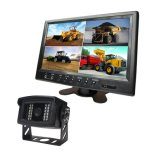 트랙터, 트레일러, 트럭, 말 트레일러를 위한 9 인치 쿼드 모니터 뒷 전망 사진기 장비