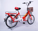 Bicicleta elétrica da cidade de 26 polegadas com a bateria escondida no frame