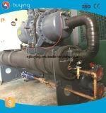 prix industriel de refroidisseur d'eau de la mer 150kw de réfrigérateur à vis d'eau