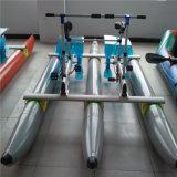 Bici inflable acuática del agua de la bicicleta del pedal del PVC del precio que juega para la venta