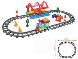 Juguete con pilas del tren ferroviario eléctrico fijado (H0031227)