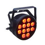 Lumière d'étape de PARITÉ de la qualité DEL d'usine de la Chine avec DEL RGBWA 12X15W