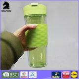 BPA libèrent la double tasse en plastique de course de mur