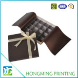Projetar o chocolate das caixas de cartão com divisor