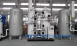 Nitrógeno que hace la planta para el tratamiento térmico del metal