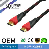 Câble bleu de l'Ethernet HDMI de support de rayon de Sipu HD1080p 3D
