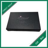Caixa de sombra preta do olho do papel do estilo da gaveta