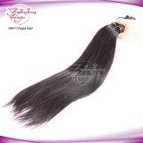 バージンの人間の毛髪の膚触りがよくまっすぐなマレーシアの毛のよこ糸