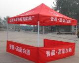 10X10FT openluchtLuifel die Tent met het Af:drukken van de Douane voor Bevordering vouwen