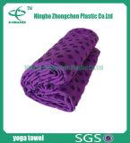 Toalla bordada de la yoga de Softtextile de la toalla de la yoga de Microfiber