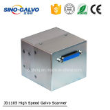 Cabeça de alta velocidade de pouco peso do Galvo de Digitas Jd1105 para a máquina da marcação do laser