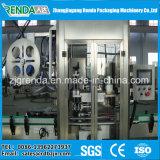 Máquina automática de etiquetado de manguitos termorretráctiles