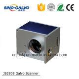 Cabeça Js2808 do Galvo do CO2 para a máquina do vidro da gravura do laser