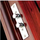 Moderne Art fabrizierte gewölbte doppelte Stahltür