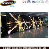 직업적인 곡선 임대료 P3.91 풀 컬러 LED 영상 벽
