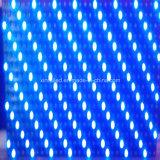 Im Freien einzelne Baugruppen-Bildschirm-Text-Bildschirmanzeige des Blau-P10 LED