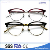 Hot Selling Unique Metaltemple Optical Frame Lunettes Acétate