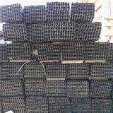 Tubo verniciato del quadrato nero per il cancello