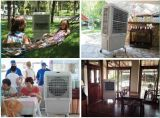Refrigerador de ar ao ar livre móvel do painel de controle de LCD/Manual por Água