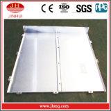 Materiales decorativos interiores de aluminio con el ángulo de aluminio