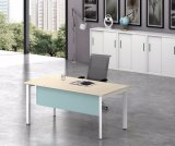 Ht05-1를 가진 백색 주문을 받아서 만들어진 금속 강철 사무실 직원 테이블 프레임