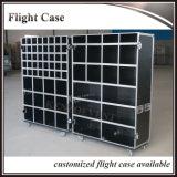 Caixa de voo de alumínio durável durável com gavetas