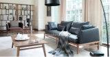 Sofà moderno Ms1308 del tessuto del sofà del cuoio di stile dell'Italia
