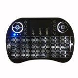 역광선을%s 가진 최신 판매 I8 2.4GHz 무선 소형 키보드 공기 마우스