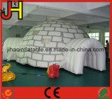 كبيرة بيضاء قابل للنفخ حزب حادث فسطاط خيمة مع نافذة