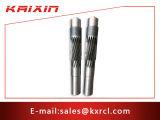 China Factory Customized CNC Usinagem Transmissão Spline Long Gear Shaft