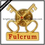 Solapa de la calidad de encargo del Pin de metal para el regalo promocional (BYH-11023)