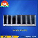Disipador de calor de aluminio de alta potencia para transmisor de emisión de blindaje de señal
